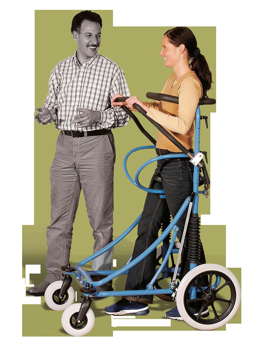 Movita-Steh-und-Gehwagen-Adult-für-Erwachsene